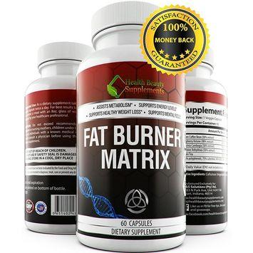 *Fat Burner Matrix * Gluten Free,Non-GMO,Vegan Friendly, Top Weight Loss Extracts Like Gacrinia Cambogia,Green Coffee Bean,Raspberry Ketones and Green Tea Extract: Health & Personal Care
