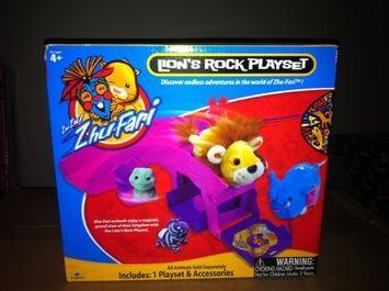 Zhu Zhu Pets Zhu Fari Lion's Rock Playset