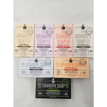 GRANDPA'S Variety 7 Bar Soap - 4.25 each
