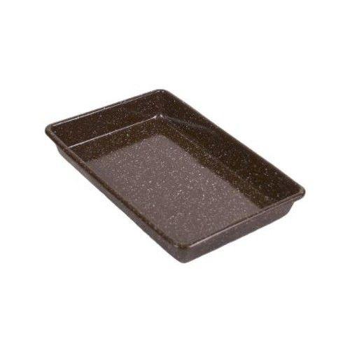 Granite Ware Better Browning Bakeware 11 in. L x 7 in. W Cake Pan Brown 1 pk