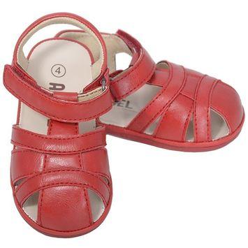 Angel Red Baby Boys 3 Open Heel Fisherman Spring Summer Sandals