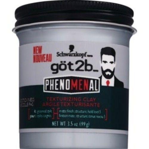 Schwarzkopf Got2b PhenoMENal Texturizing Clay, 3.5 OZ