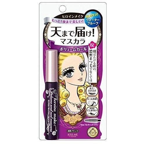 Kissme Isehan Kiss Me Heroine Make Volume & Curl & Super Water Proof Mascara 01 by Kiss Me