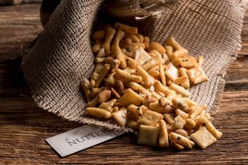 The Nuttery Ny The Nuttery Gourmet Nut Snacking-Fresh Flavorful Barbecue Munchies- Nut Mix-Unique Gift Idea 16 ounce Pouch Bag (1lb)