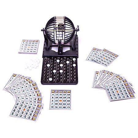 Deluxe Bingo Set with 60 Cards, 96 Bingo Balls - Limited Edition