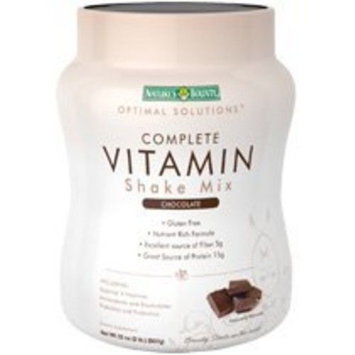 Nature's Bounty Complete Vitamin Shake Mix, 32 Ounces, Chocolate