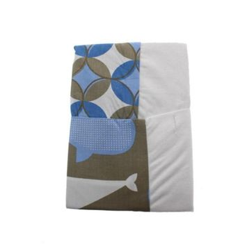 Kids Line Room 365 Whales 2 Pack Changing Pad Cover For Baby