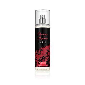 Elizabeth Arden Christina Aguilera By Night Fine Fragrance Body Mist Spray for Women, 8.0 fl oz