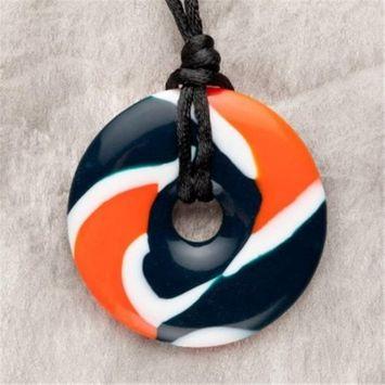 Teething Bling Orange & Blue