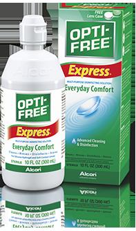 OPTI-FREE® Express® Multi-Purpose Contact Lens Solution