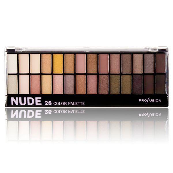 Profusion Cosmetics Nude 28 Color Palette