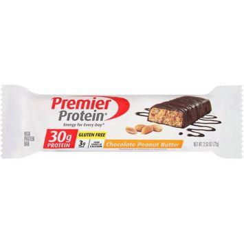 Premier Protein 30g Protein Bar, Chocolate Peanut Crunch, 2.53 oz Bar