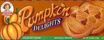 Little Debbie Pumpkin Delight Cookies