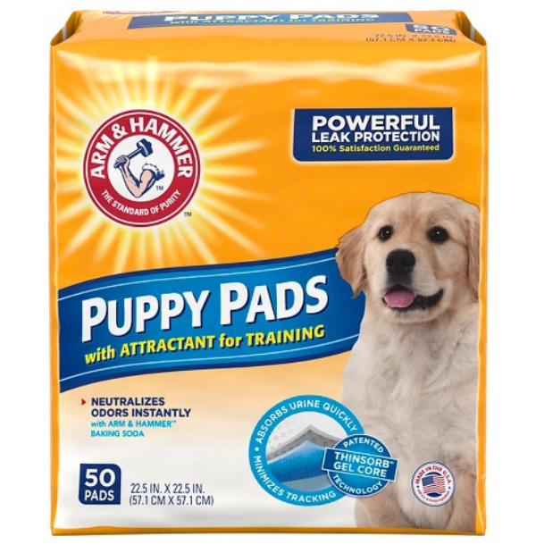 ARM & HAMMER™ Puppy Pads With Attractant