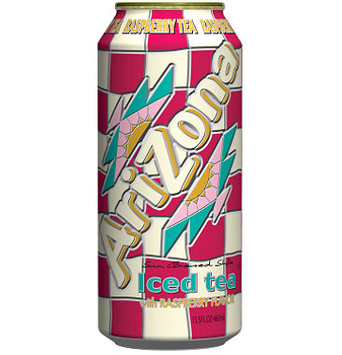 AriZona Iced Tea with Raspberry
