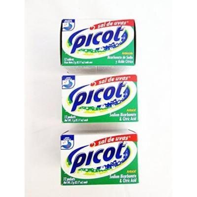 Picot Sal De Uvas, 12-count (Pack of 2)