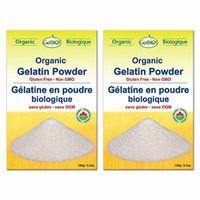 GoBIO! Organic Gelatin Powder - 2x5.3oz
