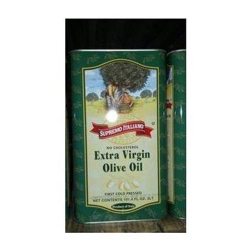 Supremo Italiano: Extra Virgin Olive Oil 2/101.4 Oz. Cans