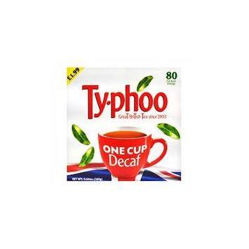 Typhoo One Cup Decaf Tea 80 Bags (3 Pack)