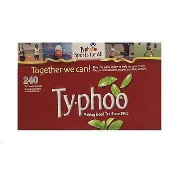 Typhoo Black Tea 6 pk x 240 Teabags