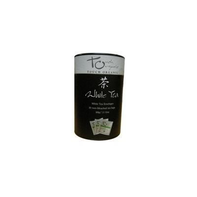 White Tea Non Bleached Bags 30 Bags 2.12oz Tin
