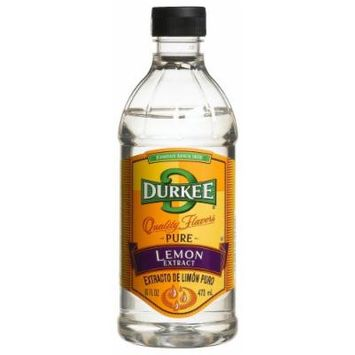 Durkee Lemon Pure Extract, 16-Ounce Containers (Pack of 2)