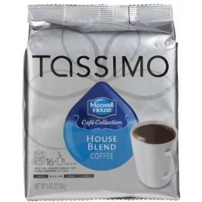 Tassimo Cafe Coll. House Blend, T-Discs, 16 ct