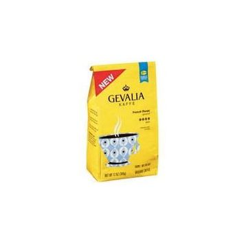 Gevalia Kaffe French Roast Dark Ground Coffee 12oz (Pack of 2)