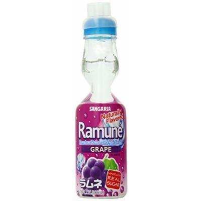 Sangaria Ramune Grape, 6.76 Fluid Ounce (Pack of 6)