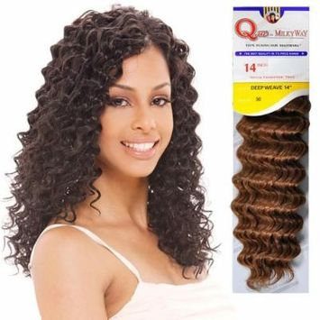 Human Hair Master Mix Weave Milky Way Que Deep Wave [14