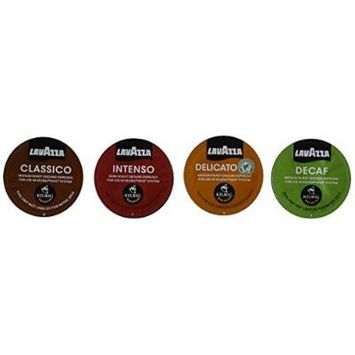 30 Cup Lavazza Espresso Sampler for Keurig Rivo Includes All 4 Varieties