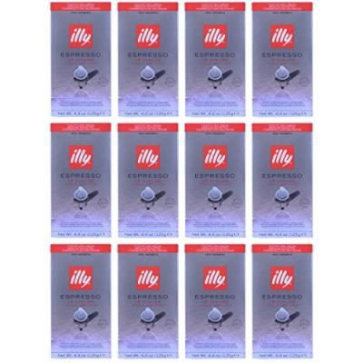 illy Caffe Coffee Espresso (Medium Roast, Red Band), 18-Count E.S.E. Pods (Case Pack of 12, 216 Total Ct.)