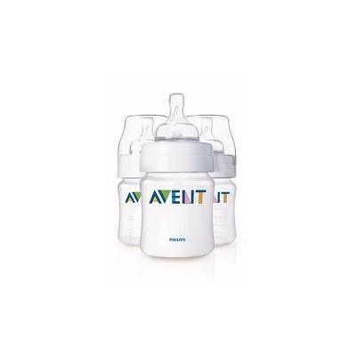 4oz Bottle with Newborn Nipple Avent 3 pack