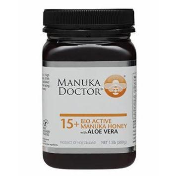 Manuka Doctor 15 Plus Honey with Aloe Vera, 1.1 Pound