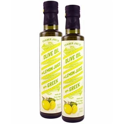 Trader Joe's 100% Greek Olive Oil and Lemon Juice - Pack of 2