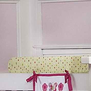 Butterfly Velour Changing Pad Cover
