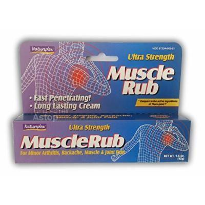 Natureplex Ultra Strength Muscle Rub 1.5 Oz (Pack of 5)