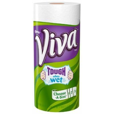 Viva Paper Towels, Choose-A-Size, White, 1 ea