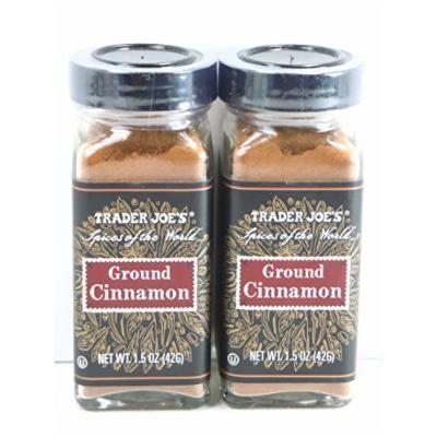 Trader Joe's Ground Cinnamon 1.5oz. (2-jars)