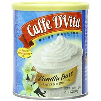 CAFFE D'VITA SMOOTHIE MIXES 19OZ CAN (VANILLA BASE SMOOTHIE)