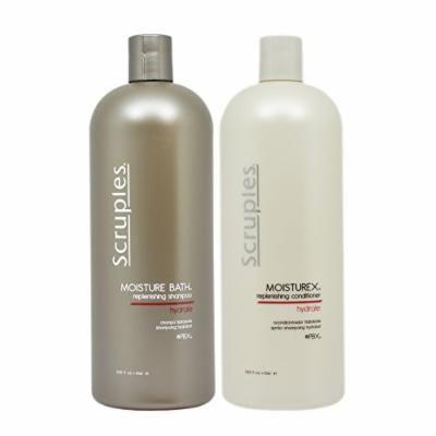 "Scruples Moisture Bath Shampoo & Moisturex Conditioner 33.8oz Duo ""Set"""