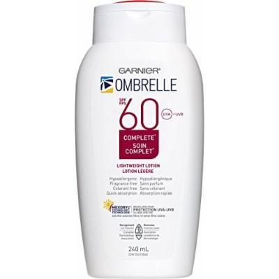Ombrelle Sunscreen SPF60 w/ MEXORYL LARGE 8 oz / 240 mL