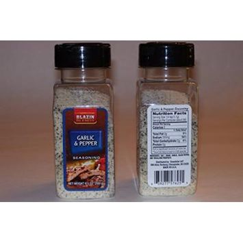 GARLIC & PEPPER Seasoning by Blazin Blends Spices 9.5 oz... mtc
