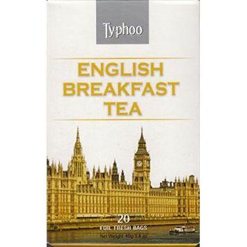 Typhoo Tea - 20 Foil Fresh Bags (English Breakfast Tea)