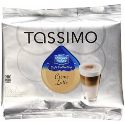 Tassimo Cafe Collection Latte, T-Discs, 8 pk