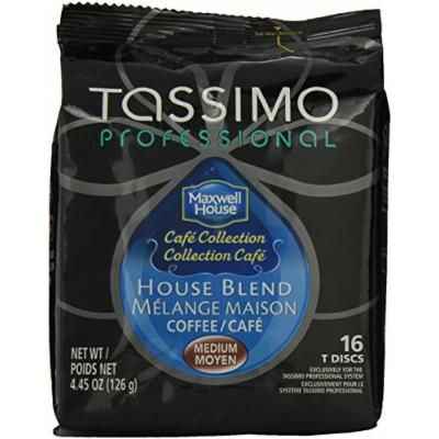 Tassimo T Disc, Maxwell House Cafe Collections, House Blend, 4.45 Ounce
