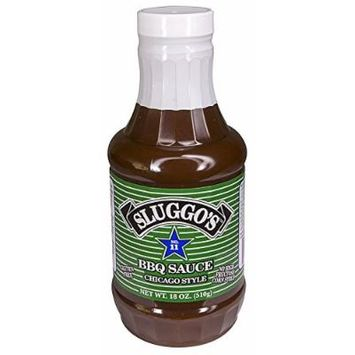 Sluggo's® BBQ Sauce 18oz, Gluten FREE , The Best Tasting Barbecue Sauce On The Market , Award-Winning, Time-Tested Recipe With A True Homemade Flavor