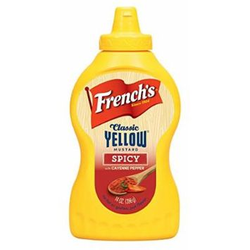 French's, Classic Yellow Mustard - Spicy