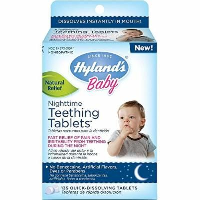 Hyland's Baby Nighttime Teething Tablets