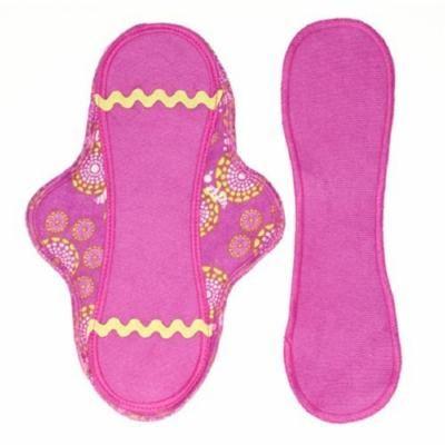 Lunapads Organic Washable Cotton Menstrual Pads, Maxi Pad + Maxi Liner 1 ea